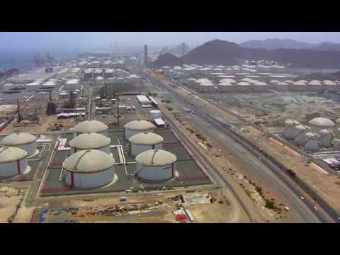 Fujairah Oil Industry Zone - Drone Video