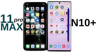 iPhone 11 Pro Max vs Galaxy Note 10 Plus Speed Test!