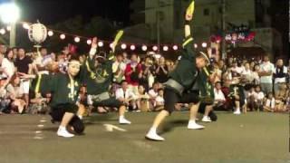竜美 阿波踊り2011.08