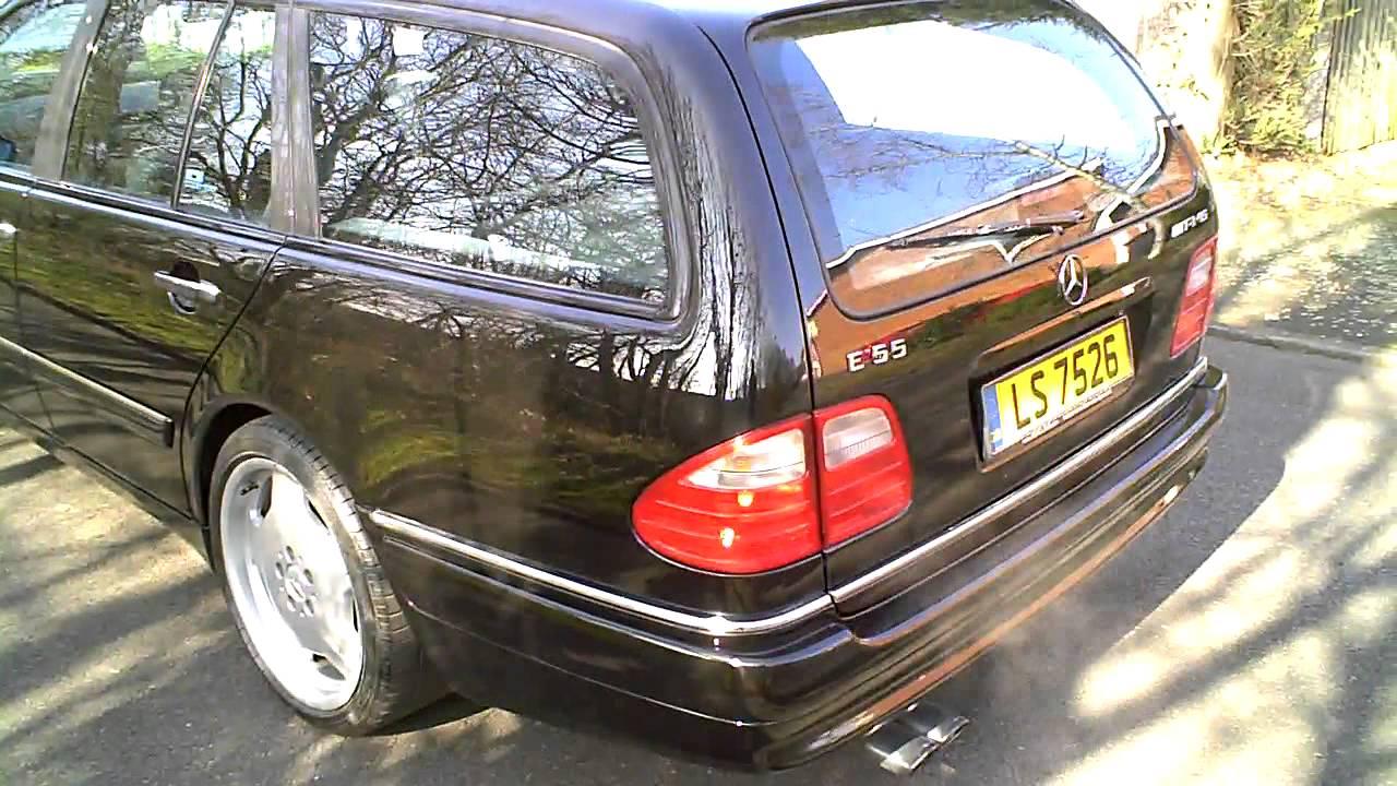 1999 mercedes e55 amg estate automatic black 5 4 v8 for 1999 mercedes benz e55 amg