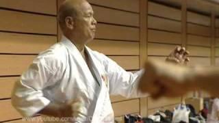 Repeat youtube video Kiyohide Shinjo. Uechi-ryu karate.