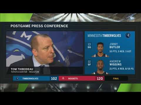 Tom Thibodeau gives us an update on Jimmy Butler's injury