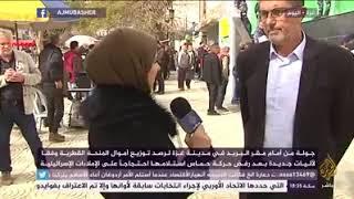 لقاء فضائية الجزيرة   أ. رياض عودة  مدير عام البريد