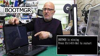 WİNDOWS AÇILMIYOR NEDENLERİ? | BOOTMGR HATASI | bootmgr is missing
