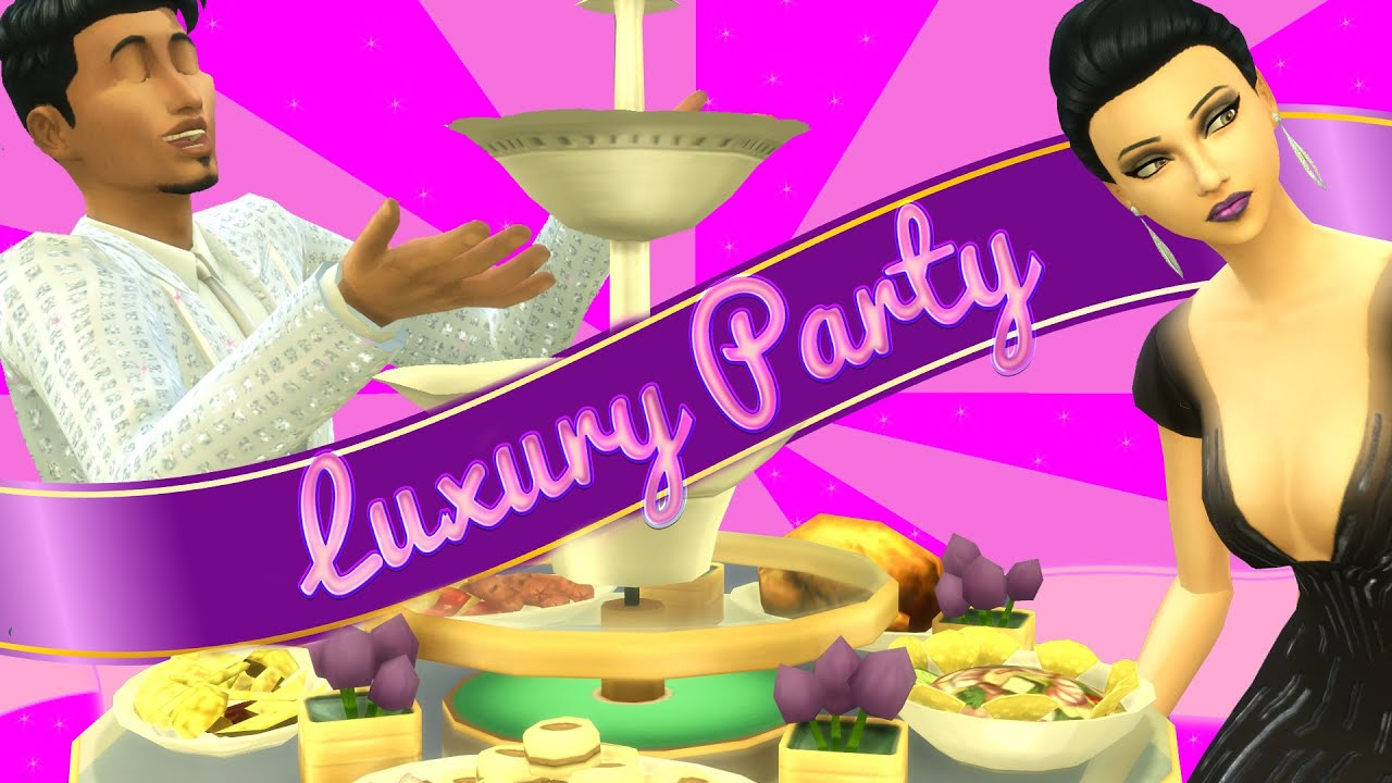 The Sims 4: Luxury Party || Overview + Giveaway
