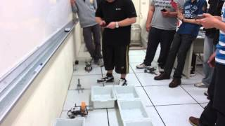 Android control Lego NXT bot - Maze Competition with Can Carry
