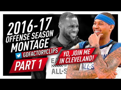 Carmelo Anthony Offense Highlights Montage 2016/2017 (Part 1) - Scoring Machine!