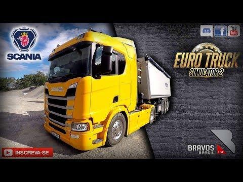 🔴► AO VIVO Euro Truck Simulator 2 # 117 heavy cargo pack