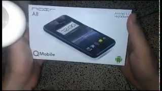 qmobile noir a8 latest mobile 2012 with android 4 0 4 unboxing review urdu