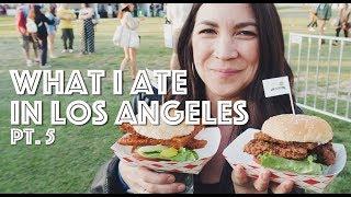 WHAT I ATE IN LOS ANGELES PT. 5 + EAT DRINK VEGAN & SEED FW // Lauren In Real Life