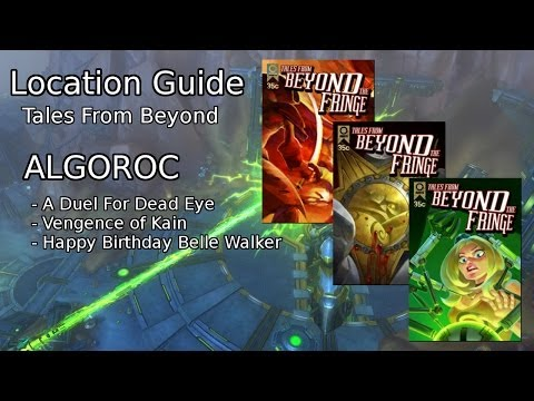 Wildstar Collection Guide - Algoroc Tales From Beyond The Fringe
