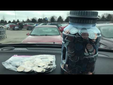 Cashing in 30 lbs Of Loose Change! How to Get Cash From Loose Change
