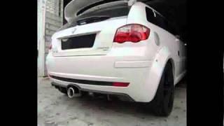 SuperStreet Satria Neo CPS exhaust sound.wmv