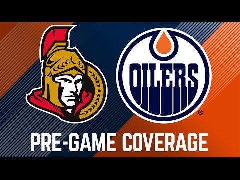 ARCHIVE   Oilers Pre-Game Interviews vs. Senators