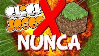 Nunca Tente Procurar Minecraft No ClickJogos