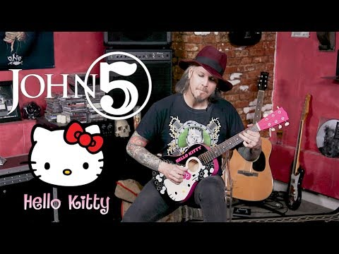 Download Youtube: John 5 Plays Hello Kitty Guitar in 13 Different Styles
