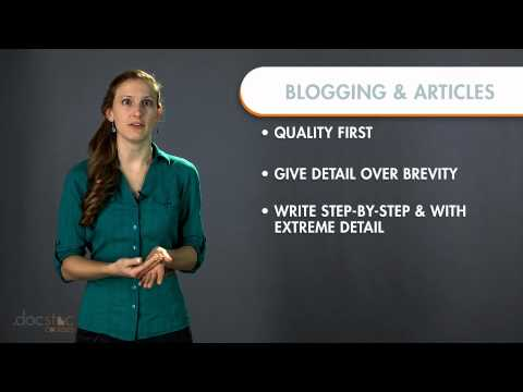Blogging & Article Writing - Business Writing & Grammar