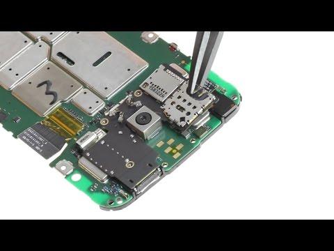 sim card reader circuit diagram 2000 silverado radio wiring motorola moto g 3rd gen 2015 connector repair guide youtube