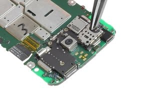 Motorola Moto G (3rd gen) 2015 SIM Card Connector Repair Guide