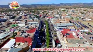 Villa Hidalgo Jalisco, Temporada Otoño e Invierno 2016 desde un Drone