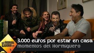 Pablo Motos entra en casa de un fan en directo para regalarle 3.000 euros - El Hormiguero 3.0