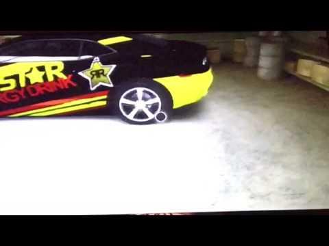 Rockstar energy custom made paint job