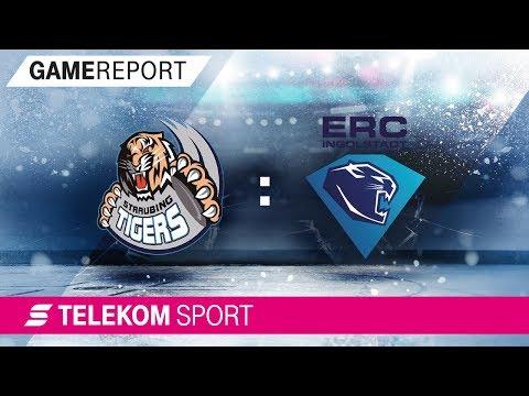 Straubing Tigers - ERC Ingolstadt | 18. Spieltag, 17/18 | Telekom Sport