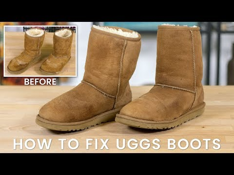 How to Fix Uggs Boots