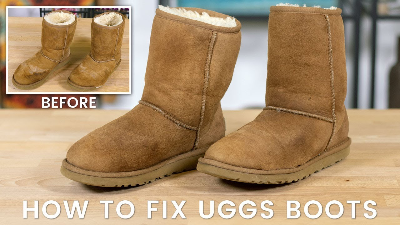 How To Fix Uggs Boots Youtube