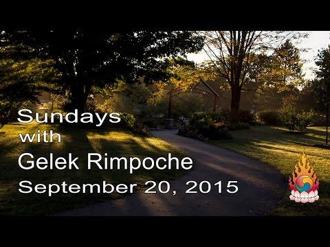 The Feminine Principle of Jewel Heart - Sundays with Gelek Rimpoche September 20, 2015