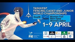 Junior Fencing World Championships 2015 Day08 - 3rd & Finals