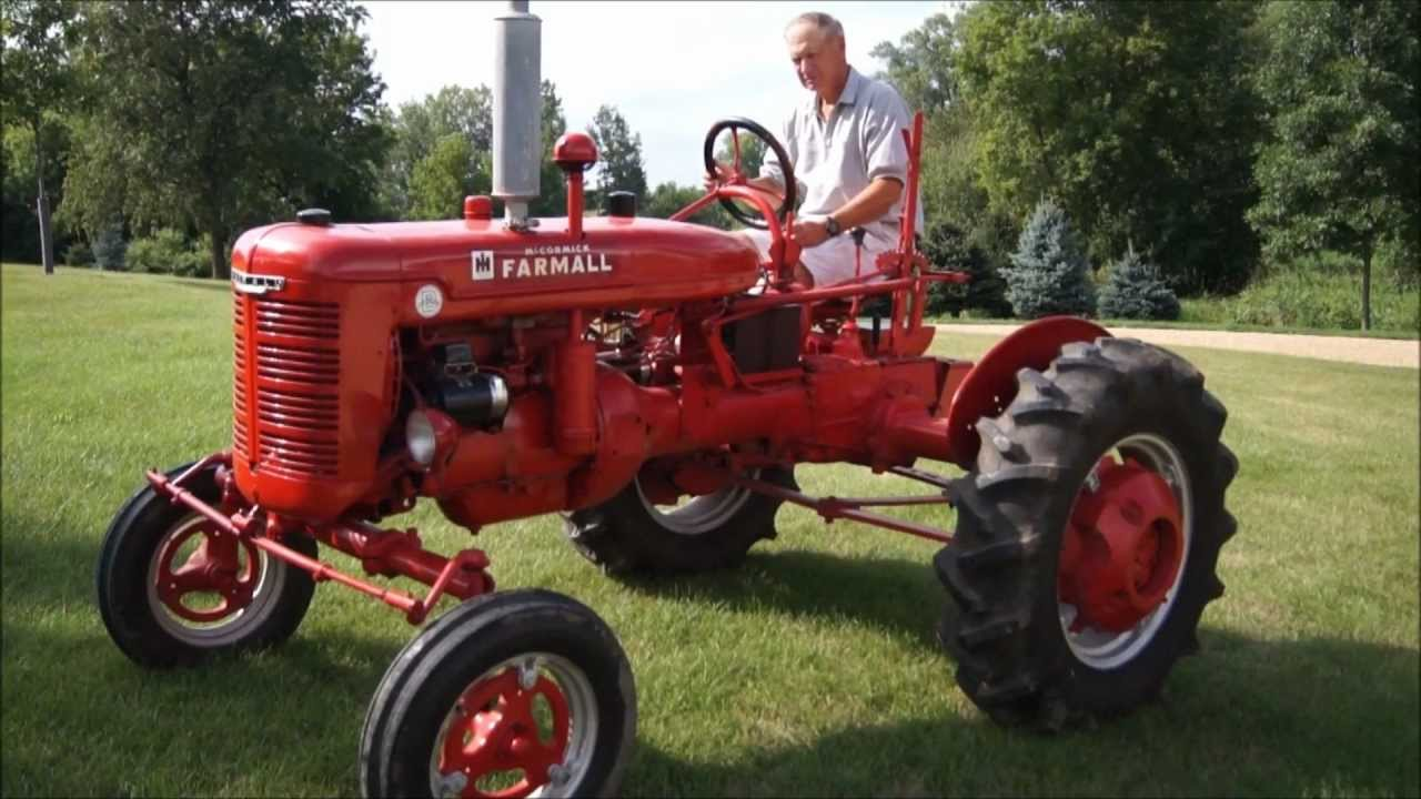 Farm All Tractor : Farmall b tractor youtube