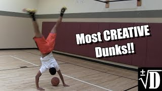 Most CREATIVE Dunks By Jonathan Clark!! Video