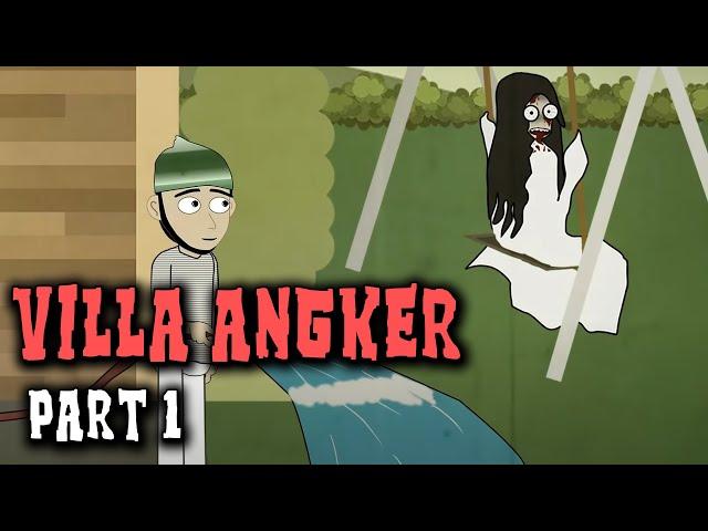 Penunggu Villa Angker Part 2 | Animasi Horor Kartun Lucu | Warganet Life