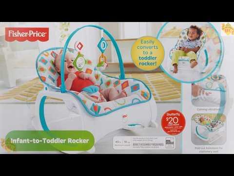 Best Fisher Price Infant To Toddler Rocker, Geo Diamonds Baby