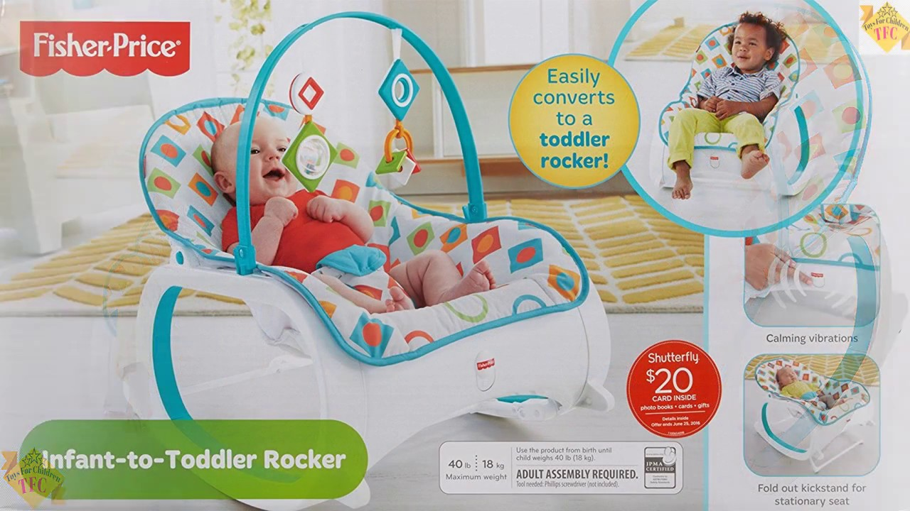 Best Fisher Price Infant To Toddler Rocker Geo Diamonds Baby