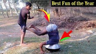 New Funny Video l Try Not to Laugh l Best Funny Video Compilation by Funny Boy's Fun