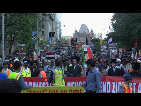 Toronto Al-Quds Day Rally 2017 (From Queens Park to US Consulate)