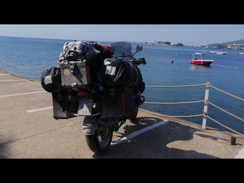 Motosikletle Sila yolu Romanya üzeri