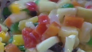 Kristine's Kitchen || ✿ Macaroni Fruit Salad ✿