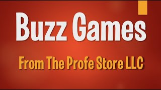 Spanish Buzz Game Preview