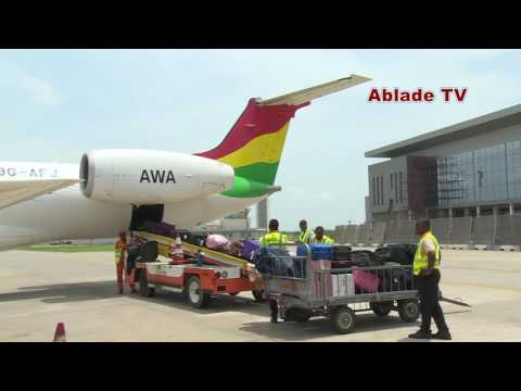 AFRICA WORLD AIRLINES MAKES GROUND BREAKING ENTRY INTO ABUJA NIGERIA
