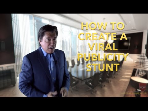 How to Create a VIRAL Publicity Stunt | Leadership Speaker | Ross Shafer
