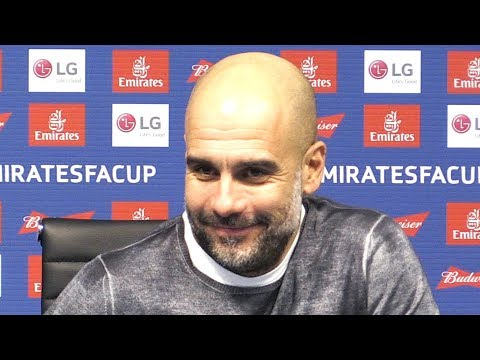 Manchester City 5-0 Burnley - Pep Guardiola Full Post Match Press Conference - FA Cup