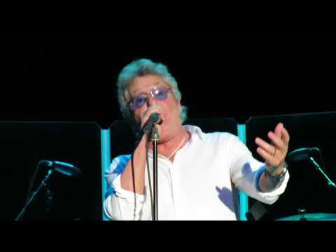 Athena- Roger Daltrey - Oct. 30, 2017 Clearwater, FL