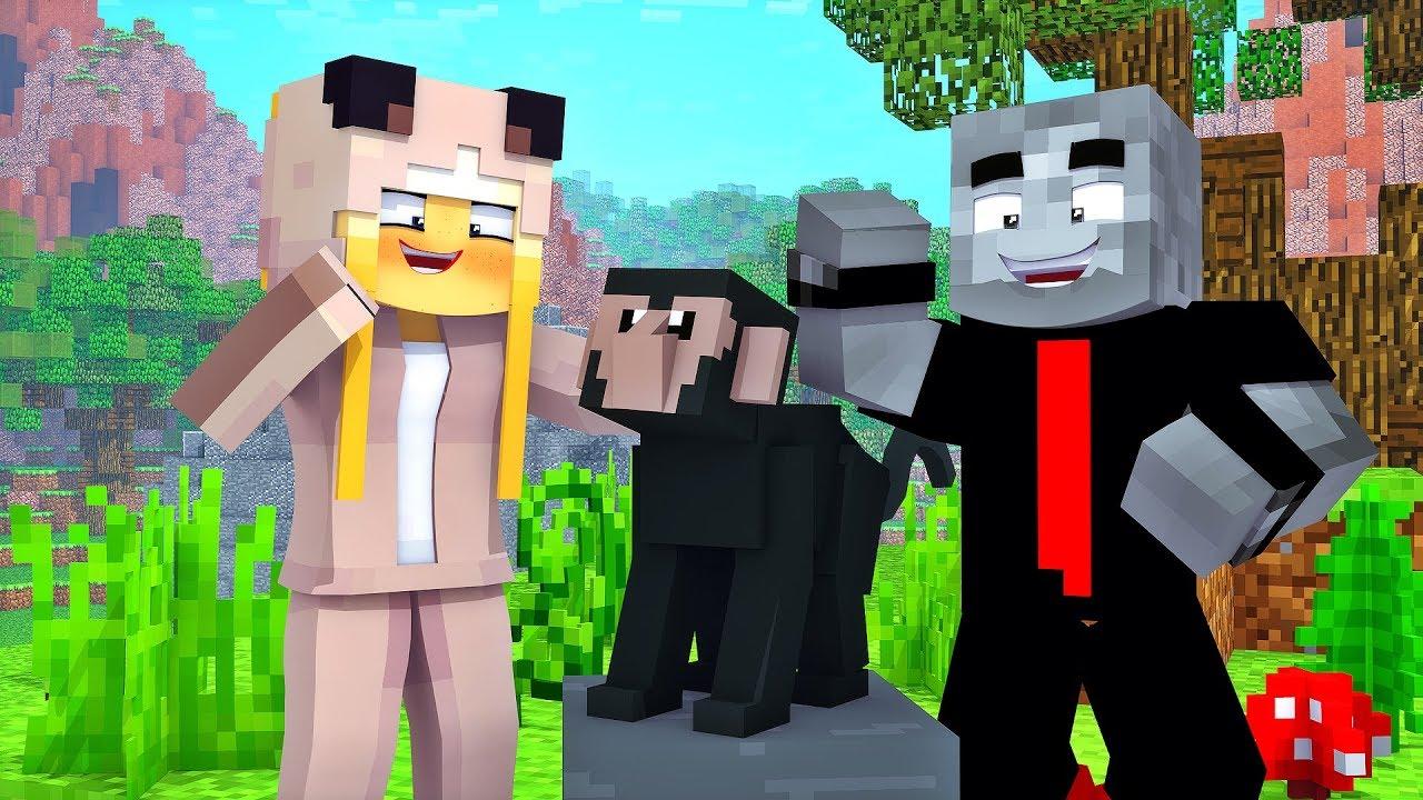 Minecraft Affe