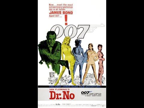 JAMES BOND 007 - (01) - Dr. No (1962) - (HD) Trailer And Main Theme Song.