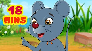 Talkative Rat Story | Telugu Stories collection for Children | Infobells