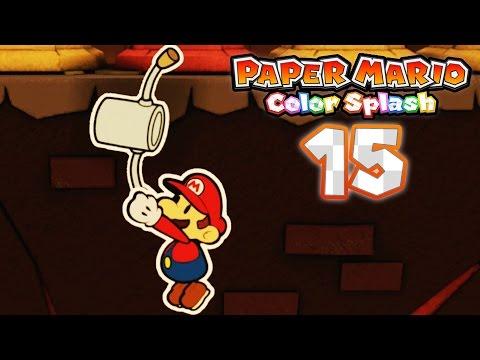Paper Mario: Color Splash - Part 15: Kiwano Temple!