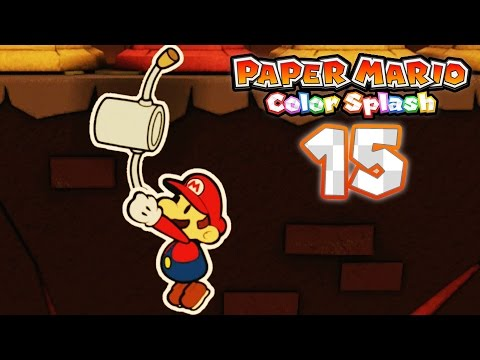 paper mario color splash part 15 kiwano temple